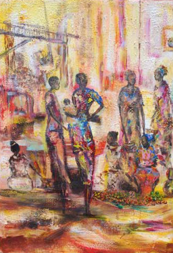 Oyude market